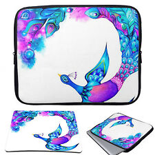 "Laptop Neoprene Sleeve Case Bag +Mouse Pad for 11-15.6"" Macbook Air /Pro HP Dell"
