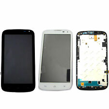 LCD Display Touch Screen Digitizer Assembly + Frame For Huawei Ascend G610