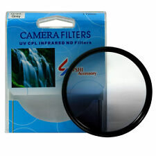Graduated Grey Color Lens Filter Screw Mount 46/49/52/55/58/62/67/72/77/82 mm