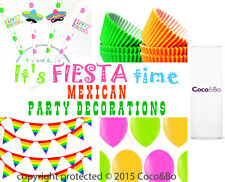 Coco&Bo Mexican Fiesta Margarita Pinata Party Drink Table Decoration All in One