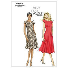 V9013 Vogue Patron Couture Petite Jacket Skirt Very Easy Sewing Pattern Misses**
