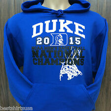 DUKE UNIVERSITY BLUE DEVILS 2015 NCAA BASKETBALL CHAMPIONSHIP HOODIE