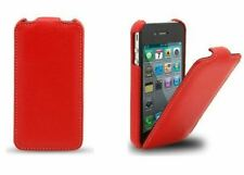 iPhone 4/4S, iPhone 5/5S Jacka Type Top Flip Leather Ultra Slim Cover Case