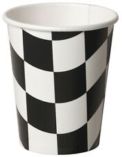 Chequered Flag | Motorsport | Racing 266ml Paper Party Cups 1-48pk