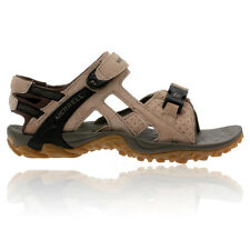 Merrell Womens Kahuna 3 Brown Vibram Suede Leather Walking Hiking Sandals Shoes