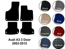 Audi A3 3 Door (2003-2011) New Fully Tailored Carpet Car Floor Mats