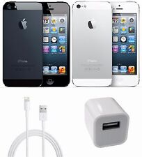 Apple iPhone 5 Unlocked 16GB 32GB 64GB Black or White AT&T T-Mobile Smartphone