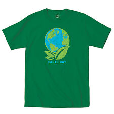 Earth Day Planet Mother Earth Green Environment Hippie Novelty - Mens T-Shirt