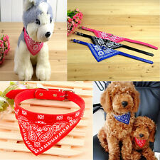 New Puppy Dog Pet Adjustable Bandana Triangle Scarf Pet Cute Collars Neckerchief