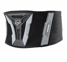 2015 Fox Racing Adult Turbo Belt Kidney Belt Back Support Black/Grey MX ATV
