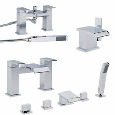 Taps Bathrooms Waterfall Tap Shower Bath Mixer Filler Mono Faucet Single Lever