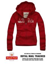 Girls/Womens Hollister By Abercrombie & Fitch Hoodie Jacket Red XS/S/M/L
