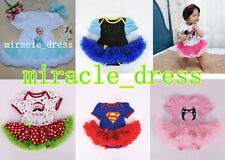 NEW GIRLS TODDLER PRINCESS FANCY DRESS UP COSTUME BIRTHDAY PARTY DRESS OUTFITS