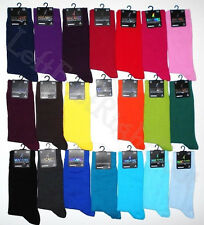 2015 New Mens Plain Colour Comfortable Soft Cotton Rich Ankle Socks UK 6-11
