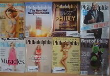 Lot 8 Philadelphia Magazines- 2009-June 2013 -2  Best of Philly/Summer/The List