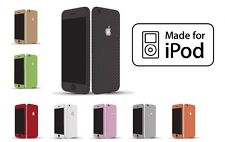 Textured Carbon Fibre Skin Sticker Vinyl Ipod Touch 2nd 3rd 4th 5th Generation