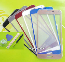Front Outer Screen Glass Lens For Samsung Galaxy S5 I9600 G900F G900 G900A G900T
