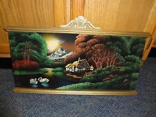 """12"""" x 24"""" Tapestry-Framed at Top & Bottom Only"""