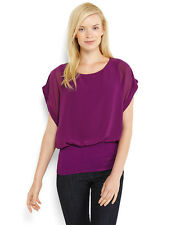 Ladies Joseph A banded top Size 12 14 16 Green Purple and Black