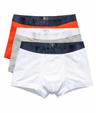 NEW David Beckham H&M 3 Pack Trunks (Orange, Grey, White) Size S, M, L, XL