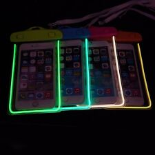 Color Waterproof Underwater Pouch Bag Pack Case For Cell Phone iPhone 6/ Plus 5S