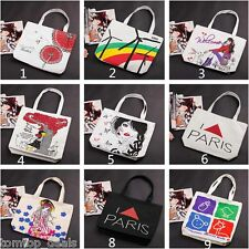 Women Tote Shopper Leisure Travel Campus Handbag Cartoon Pattern Shoulder Bag