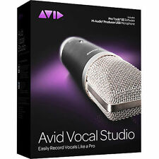 New Avid Vocal Studio Producer USB Microphone with Pro Tools SE 8250-30006-01