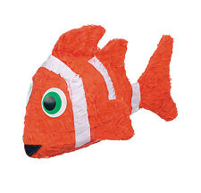 Clown Fish Pinata and Pinata Stick - Great for Finding Nemo Party