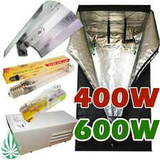 400W/600W Wing Reflector HPS/MH Grow Light Hydroponics Grow Tent Lighting Kit