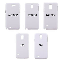 10pcs 3D Sublimation Blank Phone Case Cover For Samsung Galaxy S4 S5 Note2 3 4