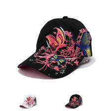 New Fashion Womens Adjustable Flat-Brimmed Hip-Hop Sports Visor Hat Baseball Cap