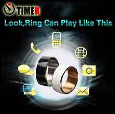 Timer 2  NFC Smart Ring IP68 Lock Business Card Zircon Men Women For Android WP
