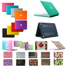 "Rubberized Hard Cover Case Shell for MacBook Mac Air Pro Retina 11"" 13"" 15"" Inch"
