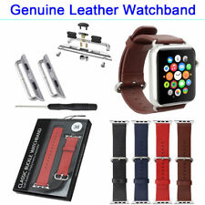 Watchband + Watch Band Adapter For All Wrist  Apple Watch Connection 38mm 42mm