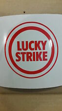 STICKER AUTOCOLLANT LUCKY STRIKE TUNING STICKERS VYNIL PAREBRISE DECOR DECAL