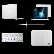 Hard case keyboard cover sleeve bag screen protecter For Apple macbook Air Pro