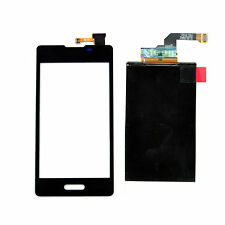 Black Touch Screen Digitizer + LCD Display For LG Optimus L5 2 II E450 E460