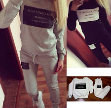 Women Tracksuit Sweatshirt Casual New Autumn Hoody Hot Sale Fashion Sports Suit