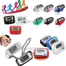 Digital LCD Multi Pedometer Walking Step Distance Counter Run Fitness