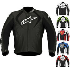 2015 Alpinestars Jaws Perforated Street Riding Protection Gear Leather Jacket