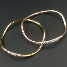AUTH Alexis Bittar Miss Havisham Crystal Orbiting Pave Bangle Bracelet