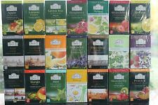 Ahmad Tea the most exclusive Tea Assorted Flavors. 20 foil tea bags
