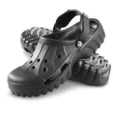New Men's Crocs Off Road Clog Outdoor Shoes Size 7 8 9 10 11 12 13 Khaki Black