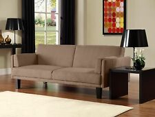 Futon Sofabed frame and mattress set sleeper convertible sofa bed couch full NEW