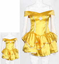 Adult Sexy Princess Beauty Belle Costume Disney Inspired Fancy Dress LINGERIE L