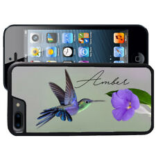 iPHONE 4 4S 5 5S 5C CASE RUBBER COVER HUMMING BIRD