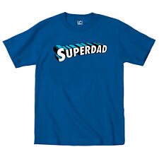 Superdad Comic Superhero Funny Father's Day Dad Humor Novelty - Mens T-Shirt