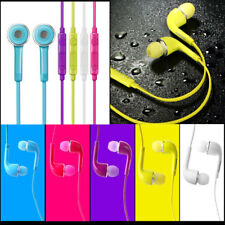 3.5mm In Ear with Mic Earphone Headphone Headset For Samsung Galaxy Phone