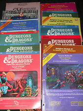 Dungeons And Dragons módulos