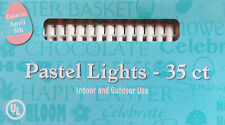 Easter Pastel String Lights ~ 35 Lights per string ~ Indoor and Outdoor Use New